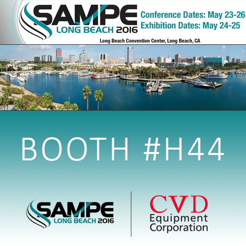 Attend The Exhibit Held In Conjunction With Society For Advancement Of Materials And Process Engineering Sampe Long Beach 2016 Conference This