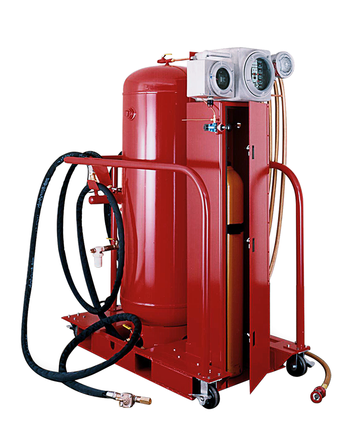 Portable Fire Suppression Equipment : Ultra high speed deluge cvd equipment corporation