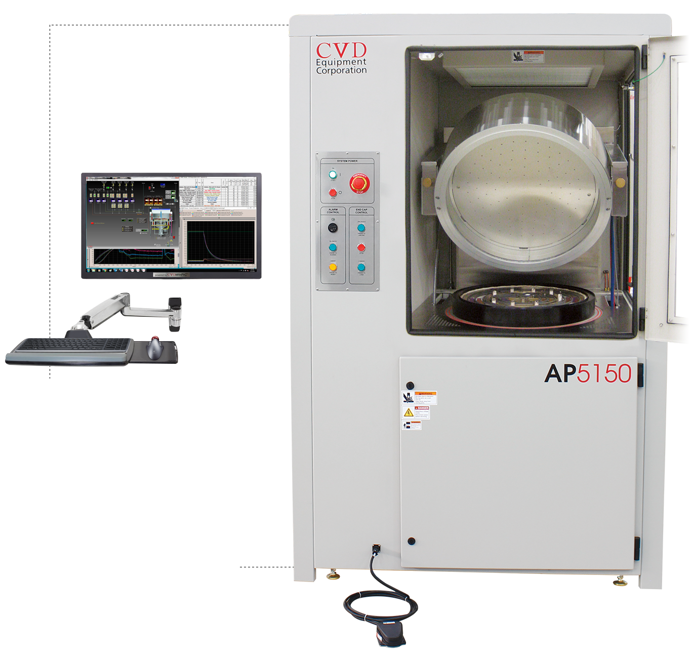 CVD Equipment for R&D and Production Processing